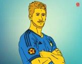 Dibujo Sergio Ramos pintado por hassi