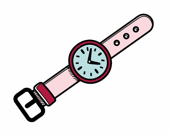 Dibujo Un reloj de muñeca pintado por albabm24