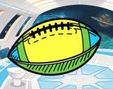Dibujo Balón de béisbol pintado por lorenzo007