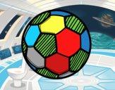 Dibujo Balón de fútbol pintado por lorenzo007