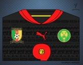 Camiseta del mundial de fútbol 2014 de Camerún