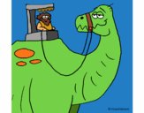 Dinosaurio prehistórico