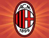 Dibujo Escudo del AC Milan pintado por hassi