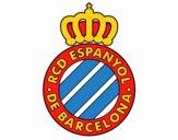 Dibujo Escudo del RCD Espanyol pintado por hassi