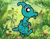Parasaurolophus bebé