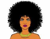 Peinado afro