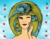 Peinado con volumen