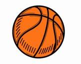 Dibujo Pelota de baloncesto pintado por lorenzo007