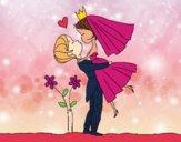 Dibujo Puedes besar a la novia pintado por AgusNet