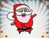 Santa claus gracioso