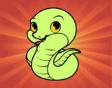 Serpiente bebé
