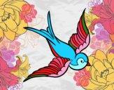 Tatuaje de pájaro