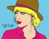 Taylor Swift con sombrero