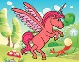 Dibujo Unicornio joven pintado por SC15
