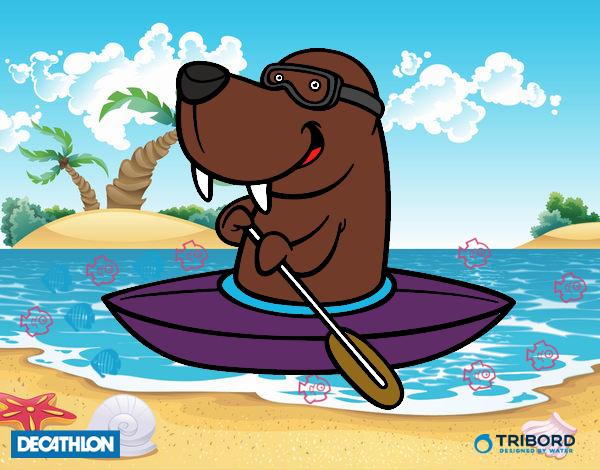 Decathlon - Morsa en kayak