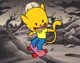 Gato skater