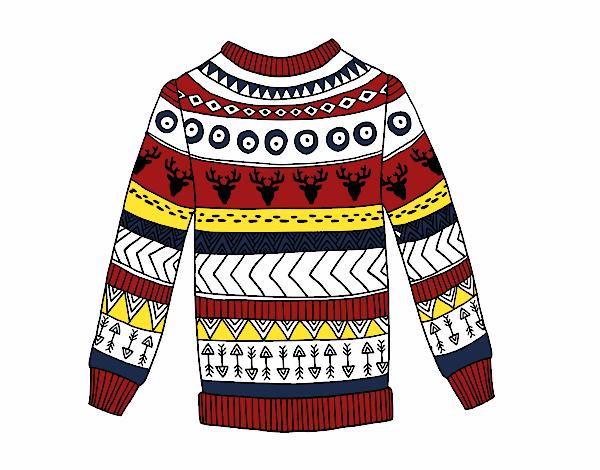 Dibujo Jersey de lana estampado pintado por albabm24