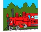 Dibujo Locomotora pintado por isaac11