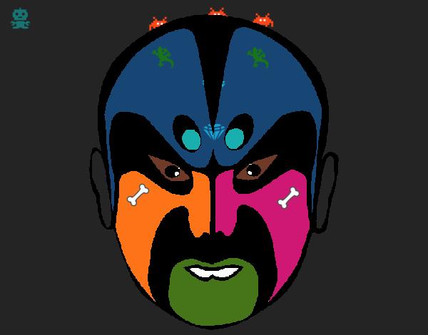 Luchador asiático