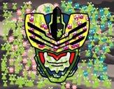 Máscara de hombre mosca