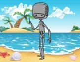 Robot delgado