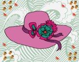 Dibujo Sombrero con flores pintado por yiyii