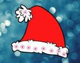 Un gorro de Santa Claus
