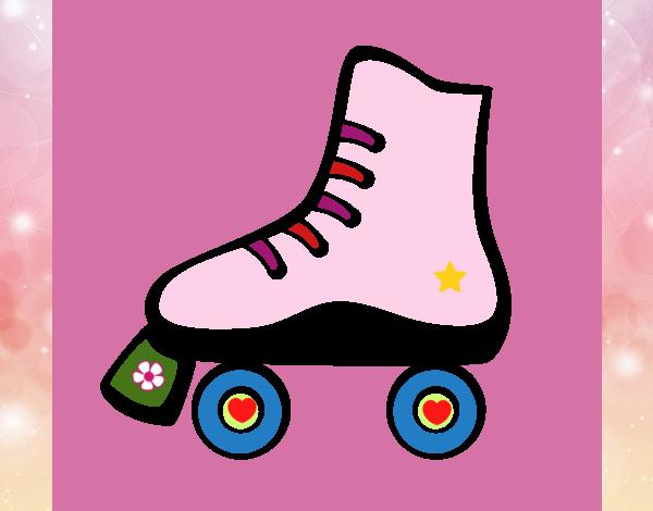 Patín sobre ruedas