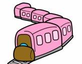 Tren en camino