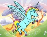 Dibujo Unicornio joven pintado por xXPucchiXx