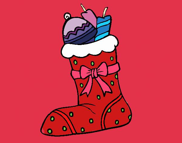 Calcetín con regalos II