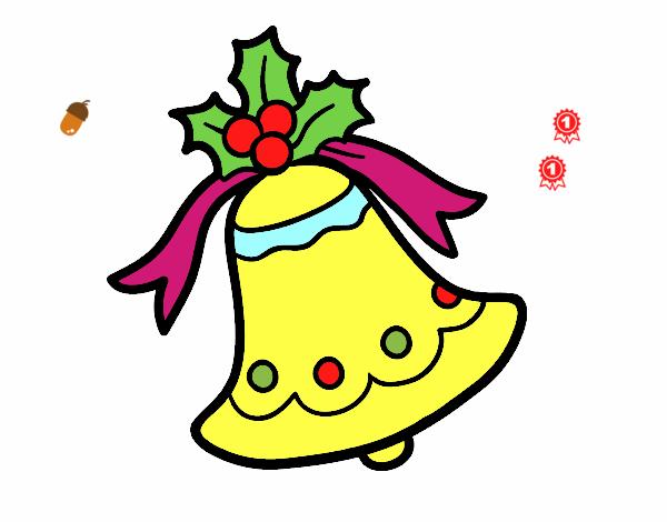 Campana navideña