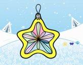Decoración de Navidad estrella