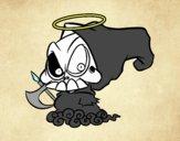 Dibujo Dios de la muerte pintado por betzabethN