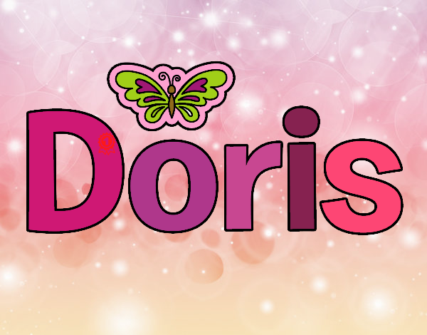 Dibujo Doris pintado por stefanyvam