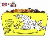 Dibujo Dr Oetker Junior Chef Molde poni pintado por Francesita