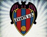 Dibujo Escudo del Levante UD pintado por breyler