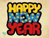 Dibujo Feliz año nuevo pintado por LosPrimos6