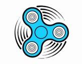 Dibujo Fidget spinner pintado por pedrito200