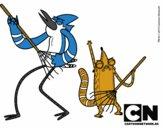 Mordecai y Rigby