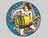 Dibujo Oráculo griego pintado por PudinGirl