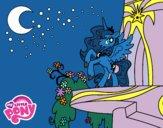 Dibujo Princesa Luna de My Little Pony pintado por PudinGirl