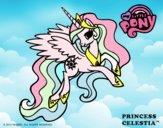 Dibujo Princess Celestia pintado por PudinGirl