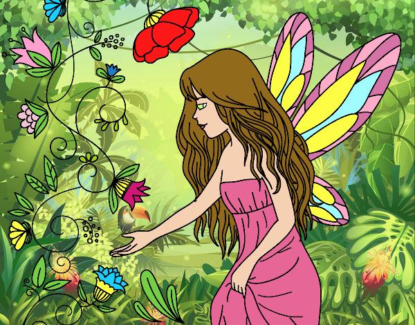 Dibujo Sílfide pintado por PudinGirl