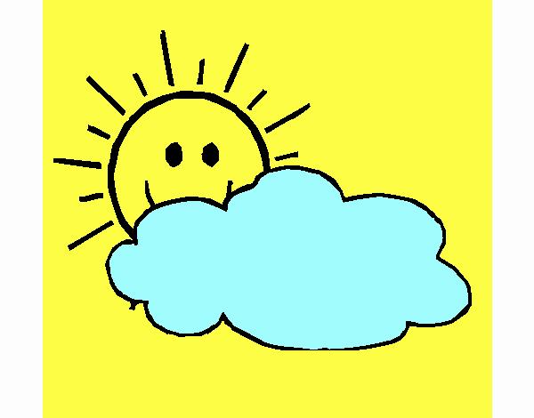 Sol y nube
