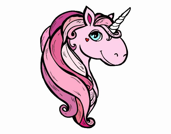 Dibujo Un unicornio pintado por PudinGirl