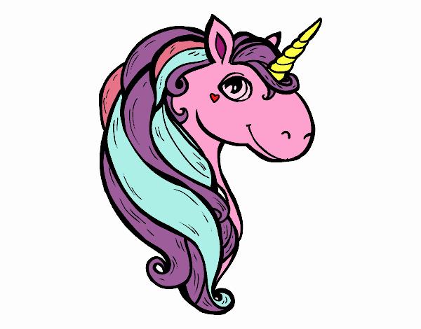 Dibujo Un unicornio pintado por stefanyvam