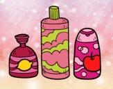 Dibujo 3 jabones de baño pintado por AgusNet
