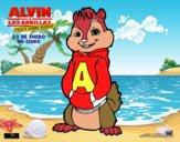 Dibujo Alvin de Alvin y las Ardillas pintado por Xxkenny3xx