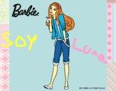 Barbie con look casual
